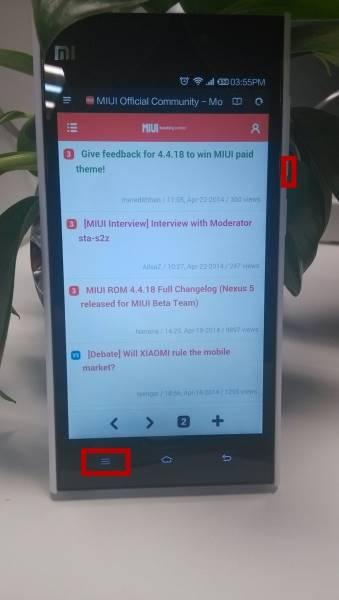 Mengambil Screenshot di MIUI_1
