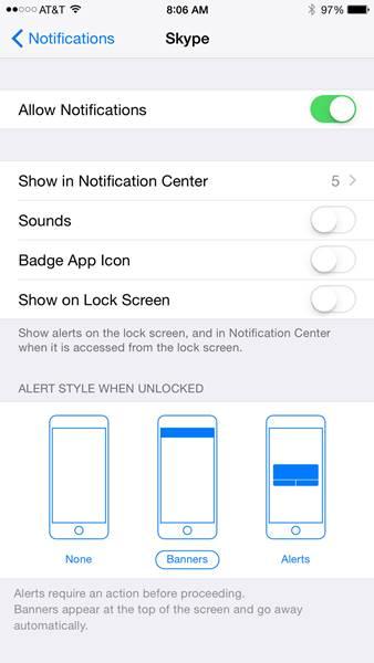 Trik iPhone_Menonaktifkan Notifikasi iPhone