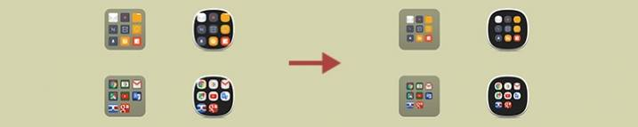 Memperkecil Preview Icon Folder MIUI