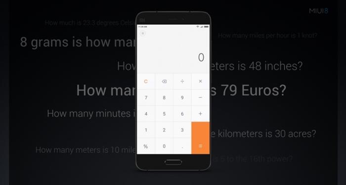 MIUI 8 - Calculator