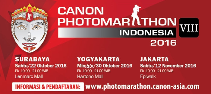 Canon PhotoMarathon Indonesia 2016