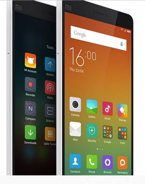Homescreen MIUI 6