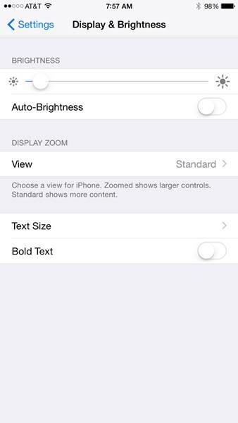 Trik iPhone_Mengurangi Cahaya iPhone