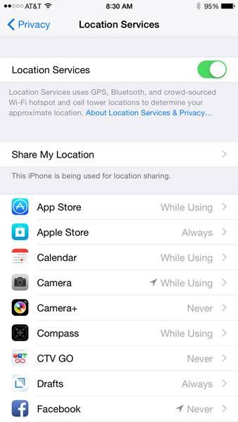 Trik iPhone_Menonaktifkan GPS iPhone