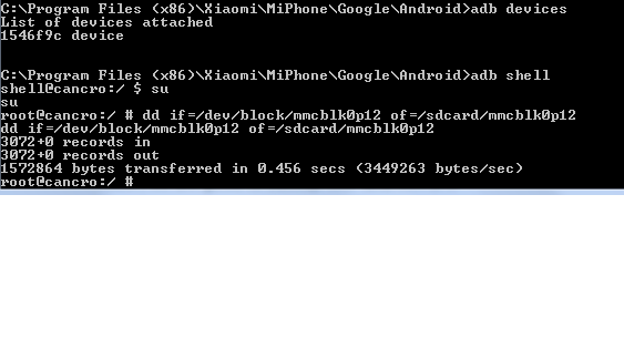 Cara Backup IMEI Xiaomi_2