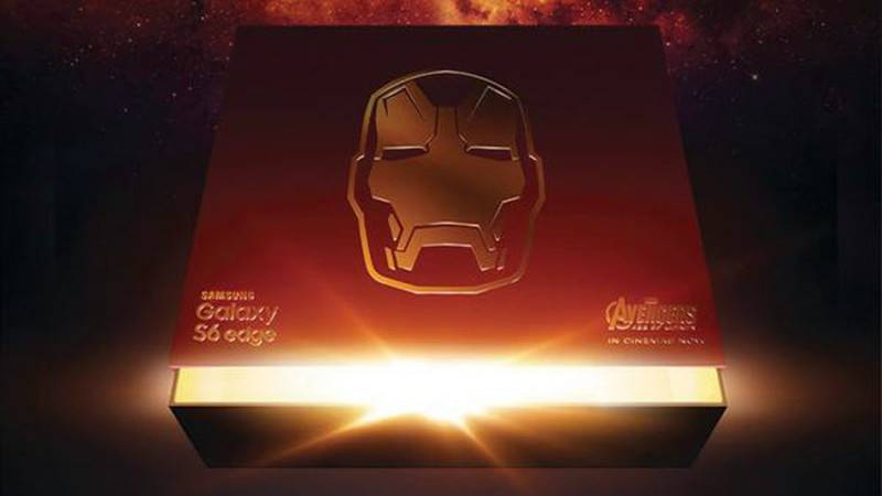 Samsung Galaxy S6 Iron Man Edition Box