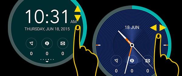 ASUS ZenUI Flip Cover Clock