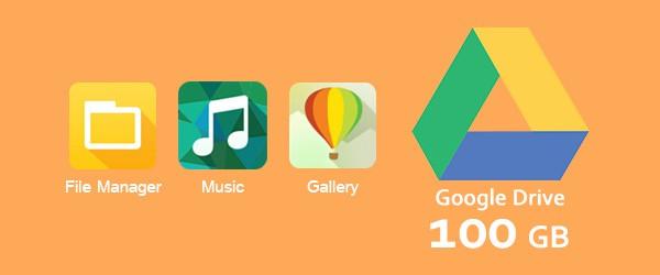 ASUS ZenUI Google Drive