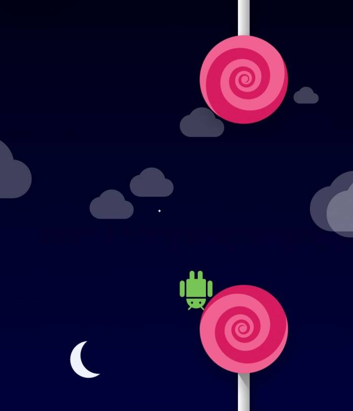 Flappy Bird Lollipop clone