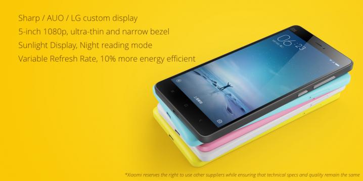 Display_Xiaomi Mi 4c