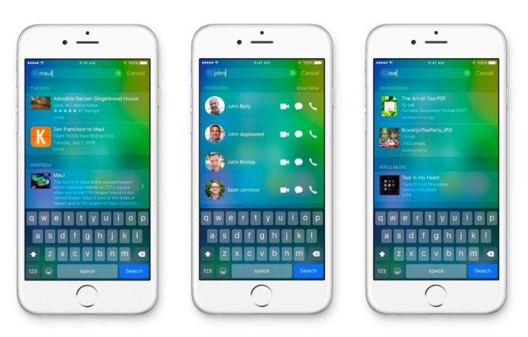 iOS 9_Quickly Call & Message