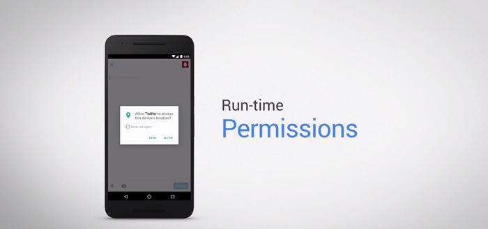 Android 6.0 Marshmallow Data App