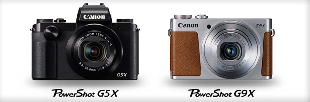 Canon Powershot G5X_Canon Powershot G9X