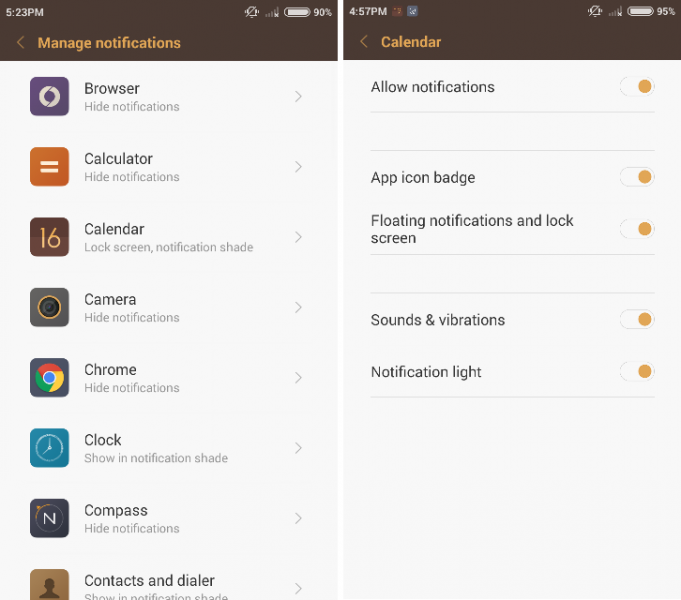 Manage Notifications MIUI_1