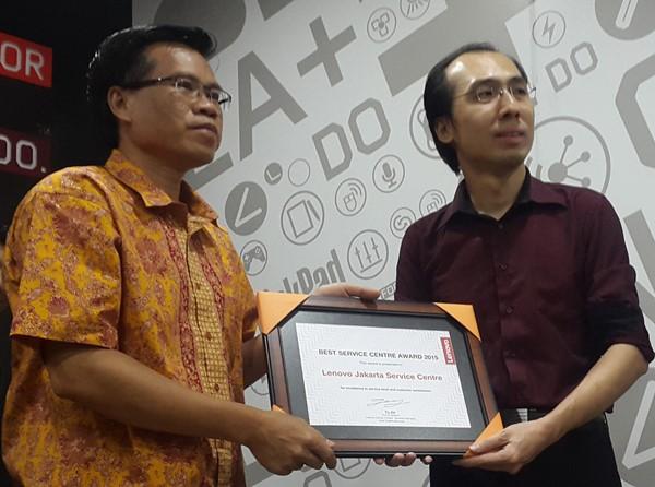 Datascrip_Lenovo Best Service Center Award 2015