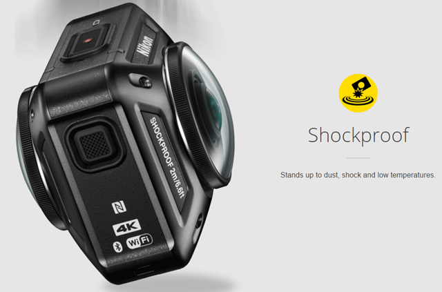 Nikon KeyMission 360_Shockproof
