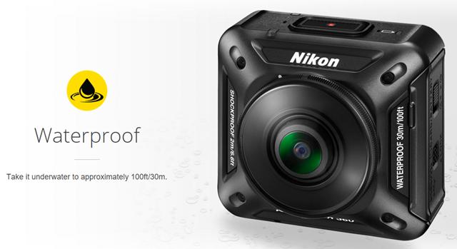 Nikon KeyMission 360_Waterproof