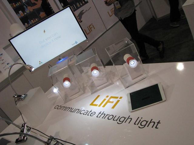 Smartphone LiFi