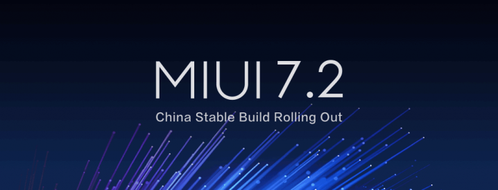 MIUI 7.2 China Stable ROM