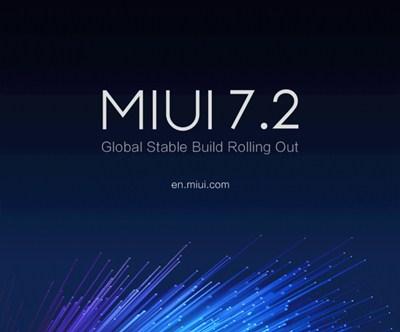 MIUI 7.2 Global Stable