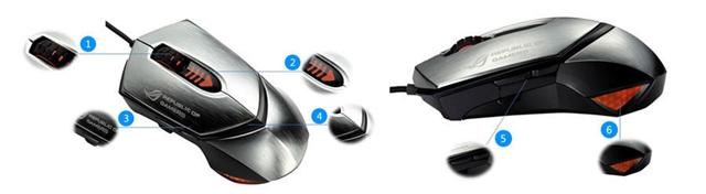 ASUS ROG GX1000 Mouse