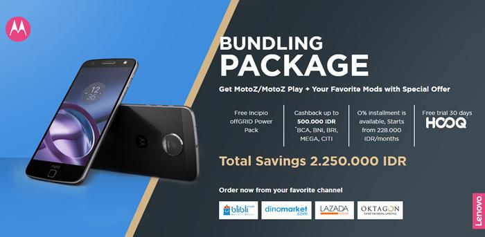 Paket Bundling Moto Z_Moto Z Play_Moto Mods