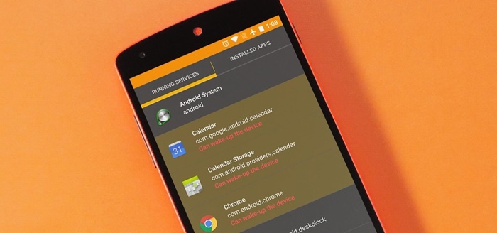 Android Background Services