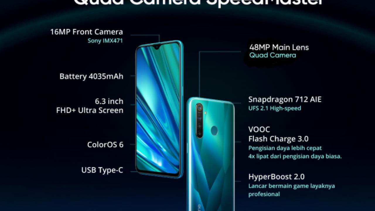Pilih Realme 5 Pro Dengan Ram 8gb Yang Andal Multitasking Atau Yang Fokus Gaming Dengan Ram 6gb