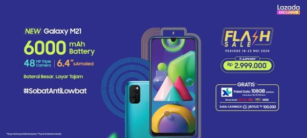 Samsung Luncurkan Galaxy M21, Baterai Besar dengan Layar ...
